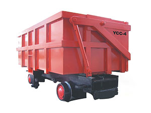 Side Dumping Wagon