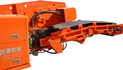 Crawler Loader with Hammer