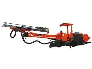 DR1-14 Rail Single Boom Drilling Jumbo