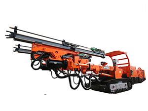 DT2-35D Dual Power Drilling Jumbo