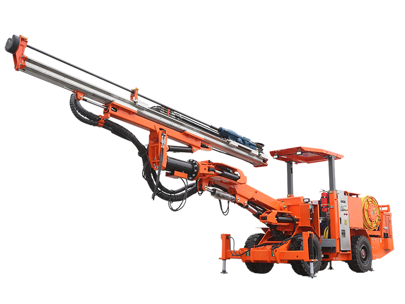 DW1-24 Wheel Single Boom Drilling Jumbo