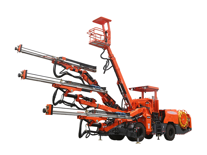 DW3-180 Three Booms Drilling Jumbo