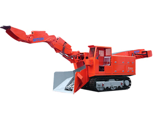 LWL-100 Level Surface Crawler Mucking Loader