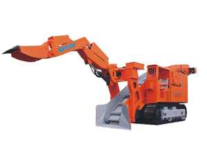 LWLX-60 Narrow Size Mucking Loader