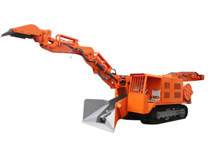 LWLXC-100 Dual Power Crawler Mucking Loader