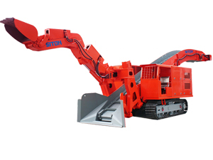 LWLXC-120 Dual Power Crawler Mucking Loader