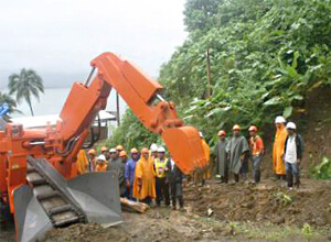 SITON Special Introduction of Crawler Loader with Hammer 2013-10-18