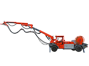ZTC30 Mobile Concrete Sprayer