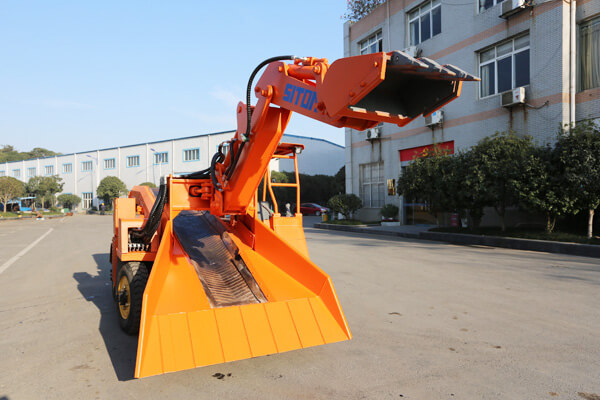 New Generation Small Wheel Mucking Loader Shipped to BH