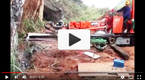 Siton single boom crawler drilling jumbo working video
